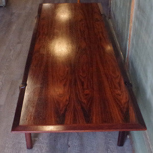 Vintage Mid-Century Rosewood Coffee Table
