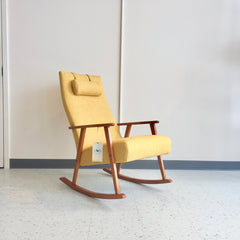 Scandinavian Modern Rocking Chair By AB Broderna Johanson