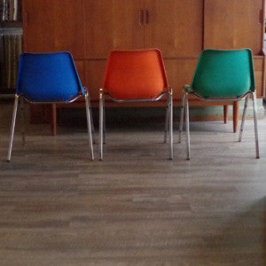 Shell Chair with Chrome Legs - Vintage Home Boutique - 3