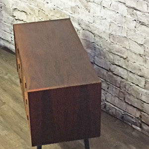Small Danish Mid Century Rosewood 6 Drawer Cabinet - Vintage Home Boutique - 4