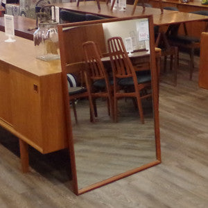Mid Century Solid Teak Framed Mirrors - Vintage Home Boutique - 3