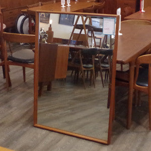 Mid Century Solid Teak Framed Mirrors - Vintage Home Boutique - 4