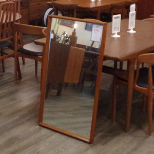 Mid Century Solid Teak Framed Mirrors - Vintage Home Boutique - 10