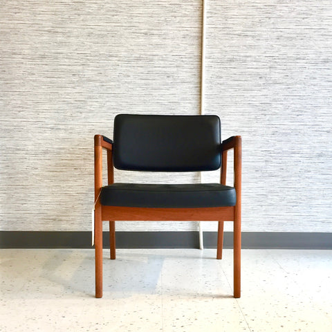 Swedish Mid-Century Teak Armchair By Svegards Mobelfabrik