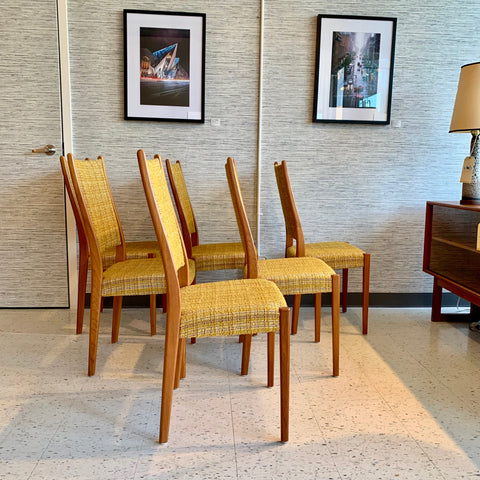Swedish Mid-Century Teak Dining Chairs By Svegards Mobelfabrik