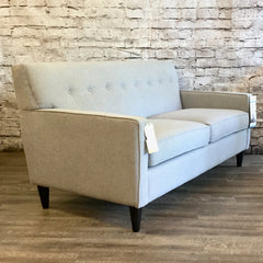 The Bertram custom mid century modern sofa
