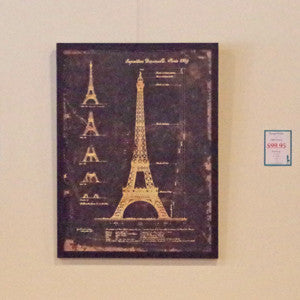 Framed Metal Vintage Style Prints - Vintage Home Boutique - 5
