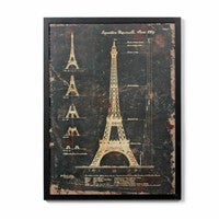 Framed Metal Vintage Style Prints - Vintage Home Boutique - 1
