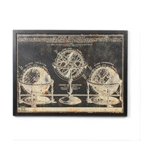 Framed Metal Vintage Style Prints - Vintage Home Boutique - 3