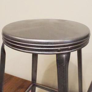 Set of 4 Vintage Industrial Factory Stools - Vintage Home Boutique - 3
