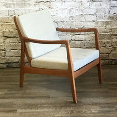 Ole Wanscher Mid-Century teak armchair for France and Sons