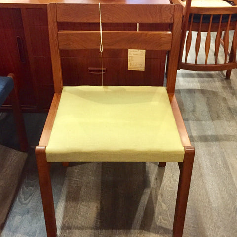 Solid Teak Mid-Century Dining / Desk Chairs