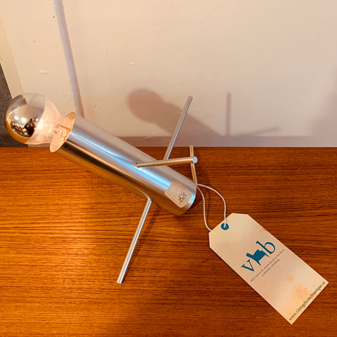 Mid Century Chrome Table Lamp By Otto Wasch For Raak Amsterdam Model R-60
