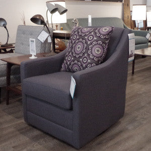 The Glen Swivel Chair - Vintage Home Boutique - 1