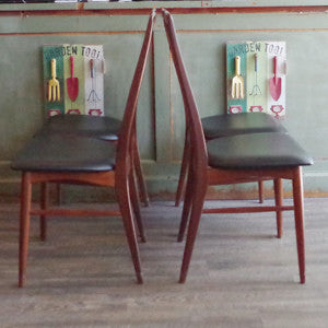 Niels Koefoed Eva Dining Chairs - Vintage Home Boutique - 7