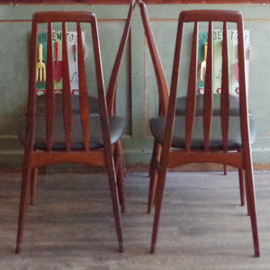 Niels Koefoed Eva Dining Chairs - Vintage Home Boutique - 9