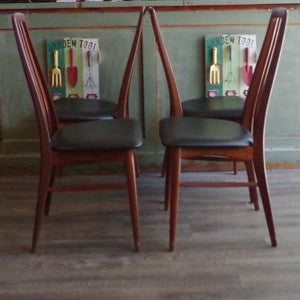 Niels Koefoed Eva Dining Chairs - Vintage Home Boutique - 8