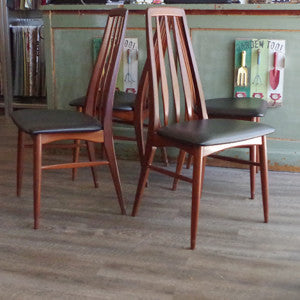 Niels Koefoed Eva Dining Chairs - Vintage Home Boutique - 5