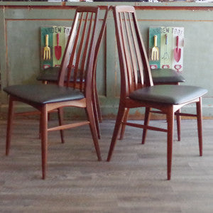 Niels Koefoed Eva Dining Chairs - Vintage Home Boutique - 4