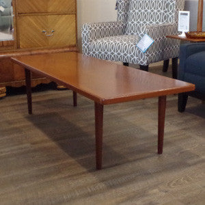 Mid Century Teak Coffee Table - Vintage Home Boutique - 1