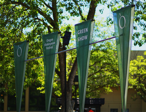 Green Show Banners
