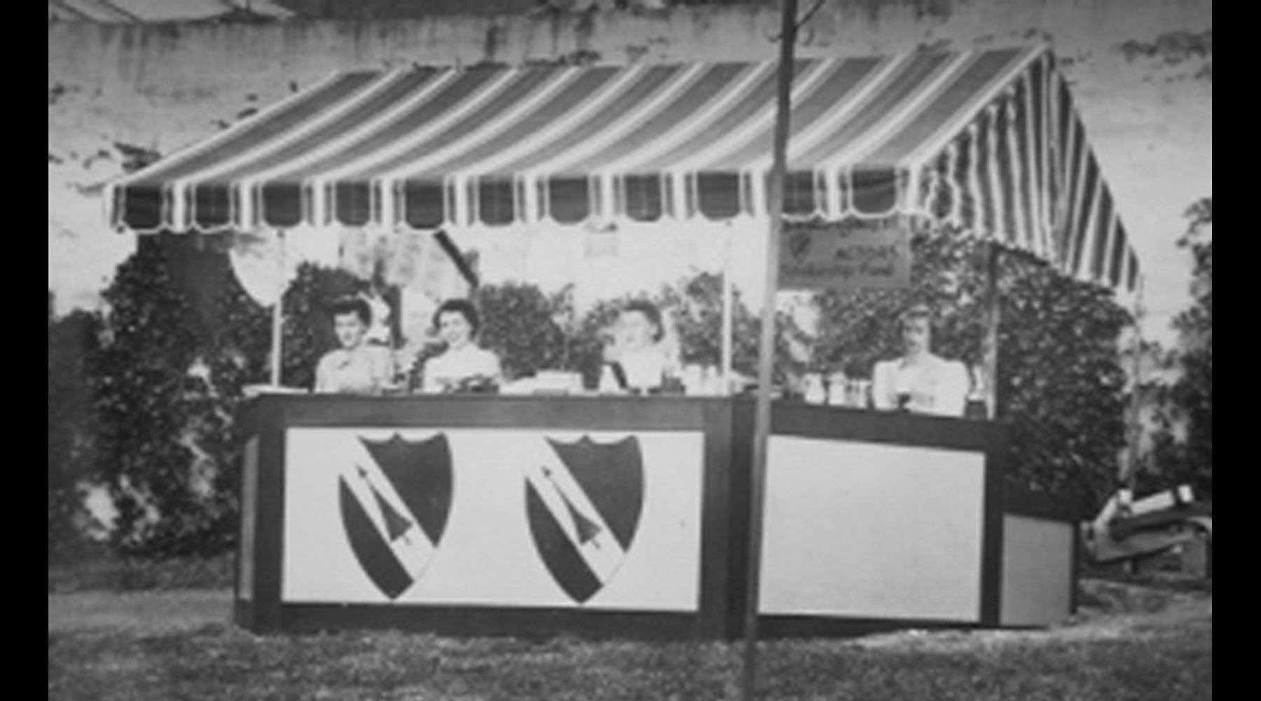 Original Tudor Guild Booth