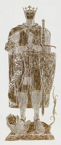 Robert the Bruce Brass Rubbing