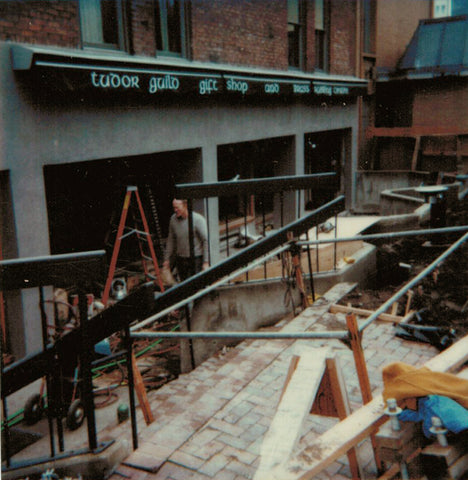 Tudor Guild Gift Shop Construction 1988