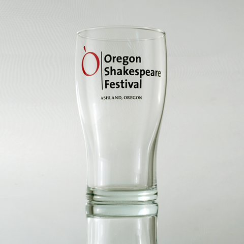 OSF Logo Bear Glass