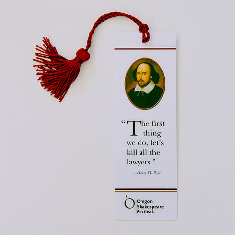 "OSF Logo Bookmark - ""...kill all the lawyers."""