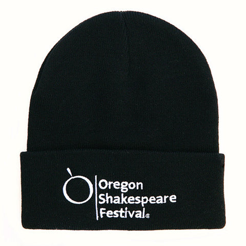 OSF Logo Knit Cap Black
