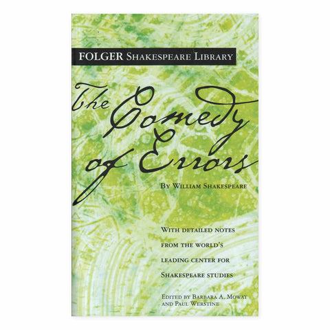 The Comedy of Errors (Folger Edition)