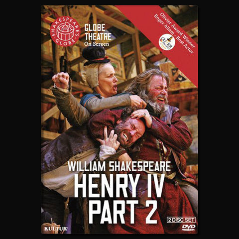 Globe Theatre On Screen's Henry IV Part 2 - DVD