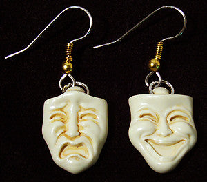 Comedy/Tragedy Earings