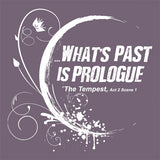 """What's Past Is Prologue"" Hooded T-Shirt Close Up"