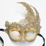Fancy Lace Mask Beige
