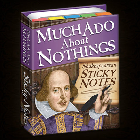 MUCH ADO ABOUT STICKY NOTES