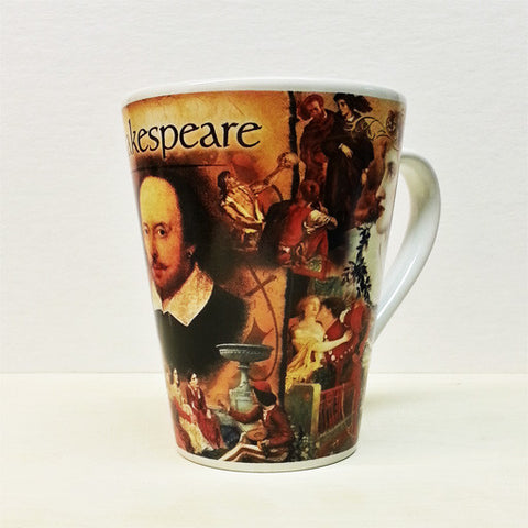 Shakespeare Latte Mug