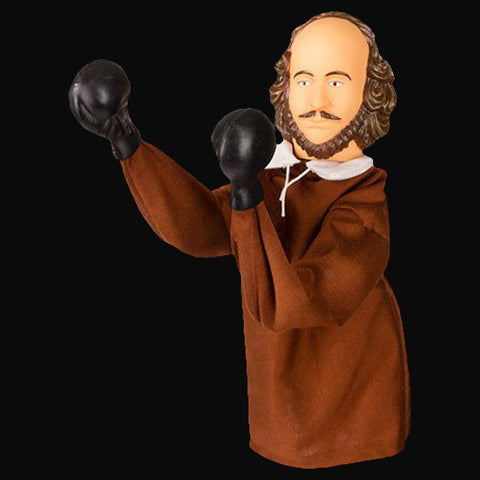 The Battling Bard Shakespeare Punching Puppet