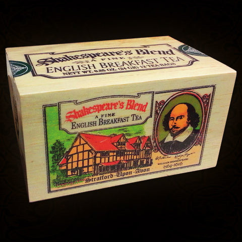 Shakespeare's Blend Fine English Breakfast Tea - 25ct.