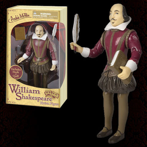 Shakespeare Action Figure