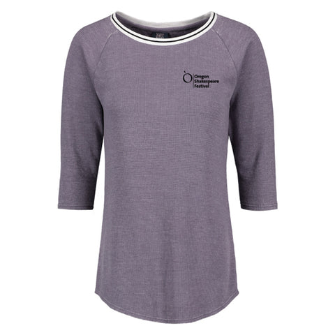 Ladies OSF Logo 3/4 Sleeve Thermal