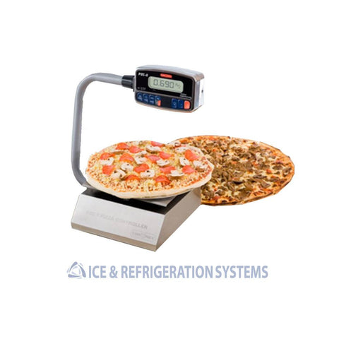 TOR-REY 10 LB STAINLESS STEEL PORTABLE PIZZA CONTROLLER SCALE PZC-5/10