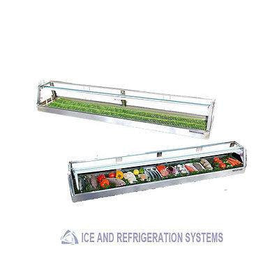 "72"" REMOTE YOSHIMASA EICHI PREMIUM  FLAT TOP  SUSHI DISPLAY COOLER EICHI-6M"