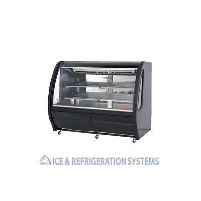 "TORREY 75"" COMMERCIAL REFRIGERATED DELI BAKERY CASE COOLER MERCHANDISER TEM200BL"