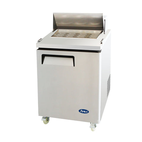 "Atosa 27"" Commercial Mega Top Salad & Sandwich Prep Table Cooler MSF8305"