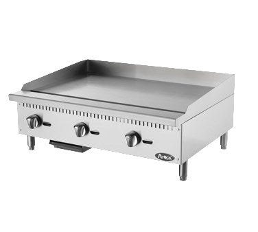 "Atosa 36"" Commercial Countertop Gas / Propane Heavy Duty Griddle ATMG-36"