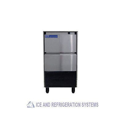 143LB STAINLESS STEEL COMMERCIAL UNDERCOUNTER ICE MACHINE  MAKER