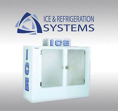 POLAR TEMP 200 BAG ICE STORAGE MERCHANDISER