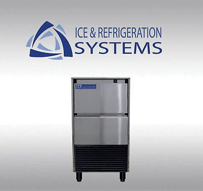 ITV 121LB COMMERCIAL UNDERCOUNTER ICE MACHINE MAKER  LARGE GOURMET STYLE CUBE